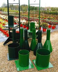Máquinaria para embolsado de planta ornamental