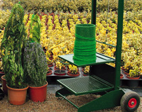 Máquina de envasado de plantas ornamentales
